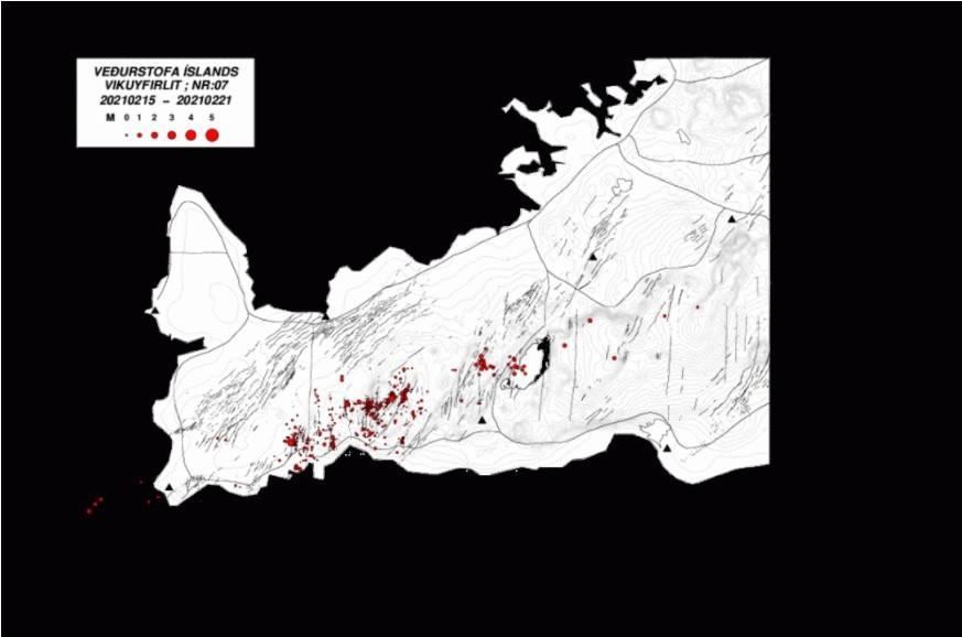 Ισχυρή Ηφαιστειακή έκρηξη απειλεί τη χερσόνησο του Ρεϊκιαβικ στην Ισλανδία. Νέα ενημέρωση.