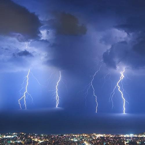 Τοπικά ισχυρές καταιγίδες στα ηπειρωτικά αύριο Πέμπτη 10/06/21.