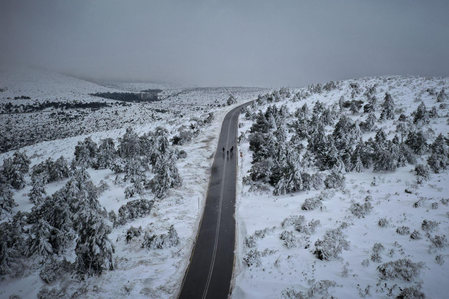 Πολιορκία χιονιού στην Αττική το προσεχές τριήμερο. Αναλυτική πρόγνωση Σαββατοκύριακου 28& 29/12.