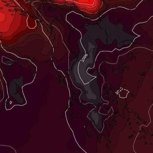 Προαναγγελία κύματος Καύσωνα μακράς διάρκειας στην χώρα μας.