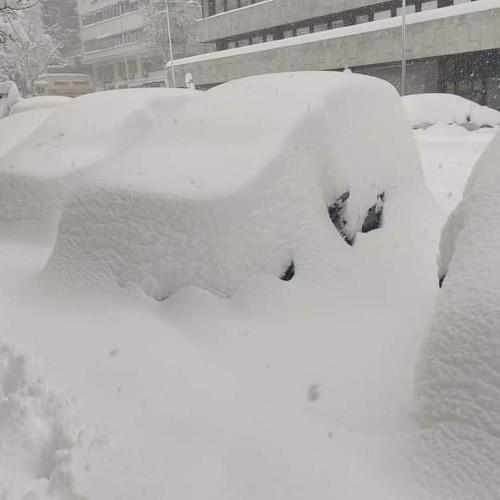 Η ιστορικότερη χιονόπτωση των τελευταίων 50 ετών στην Μαδρίτη.