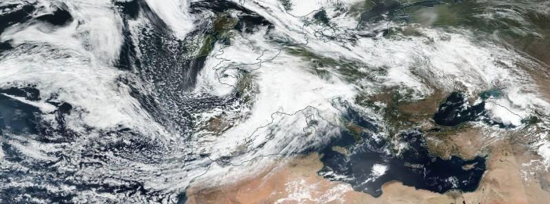 Εικόνες καταστροφής στην Ιταλία