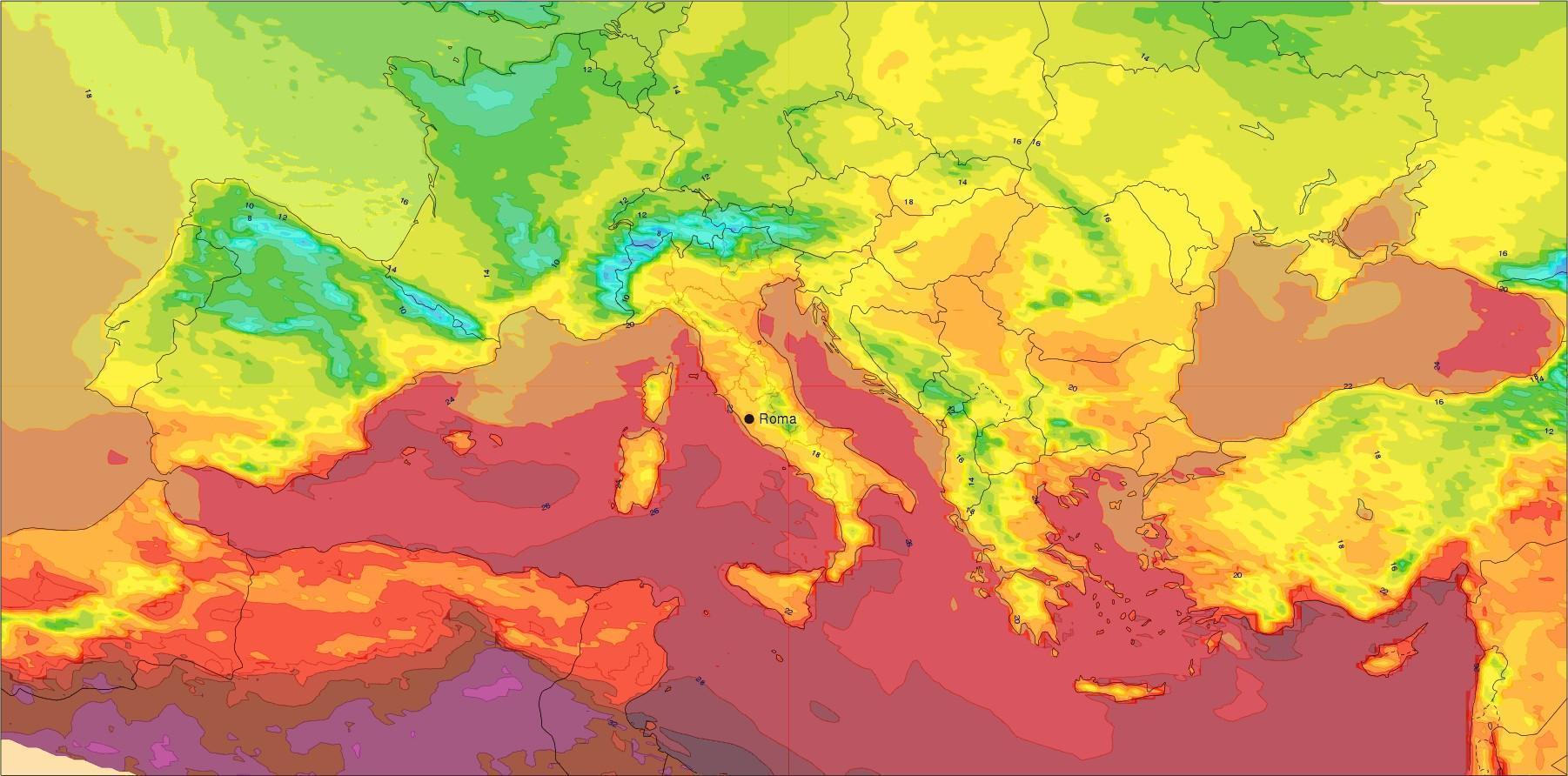 Σημαντική μεταβολή του καιρού στην Ευρώπη!