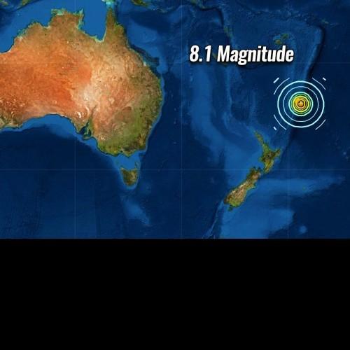 Προειδοποίηση για το τσουνάμι για τη Νέα Ζηλανδία και το τσουνάμι για τη Χαβάη. Δείτε Live εικόνα
