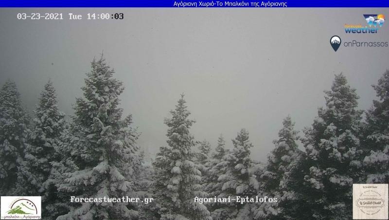 Δείτε Live που χιονιζει αυτή την ώρα στην Ελλάδα, μέσα από τις κάμερες του Forecatweather.gr