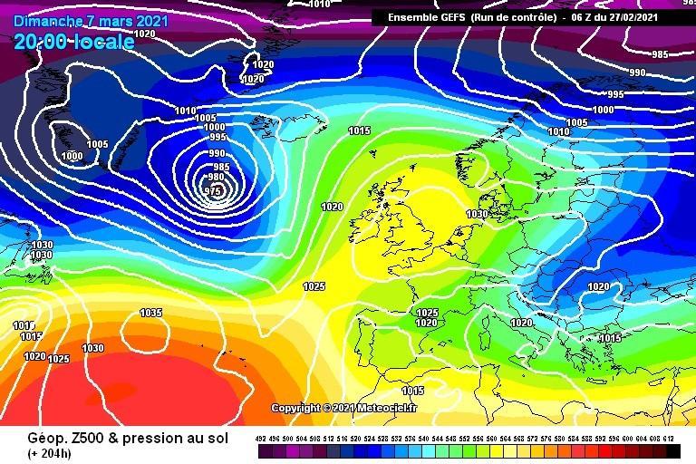 Μεσοπρόθεσμη ανάλυση καιρού για τον Μάρτιο 2021