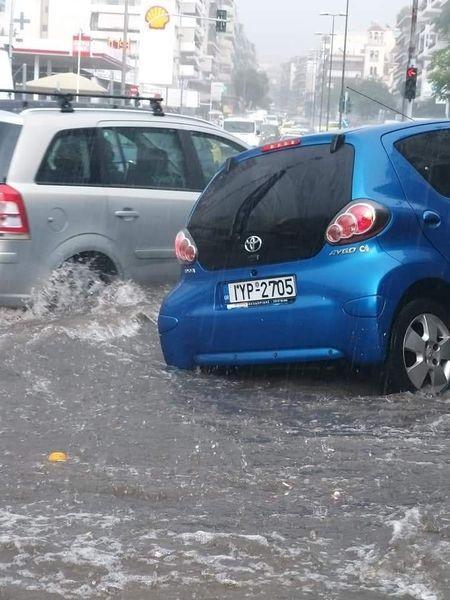 Πλημμυρικά φαινόμενα στην Αττική! (εικόνες)