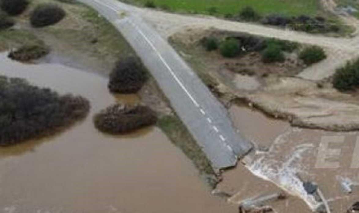 Σέρρες: Διαλύθηκε γέφυρα και αποκλείστηκαν χωριά. Έσπασε και βυθίστηκε στο ποτάμι....