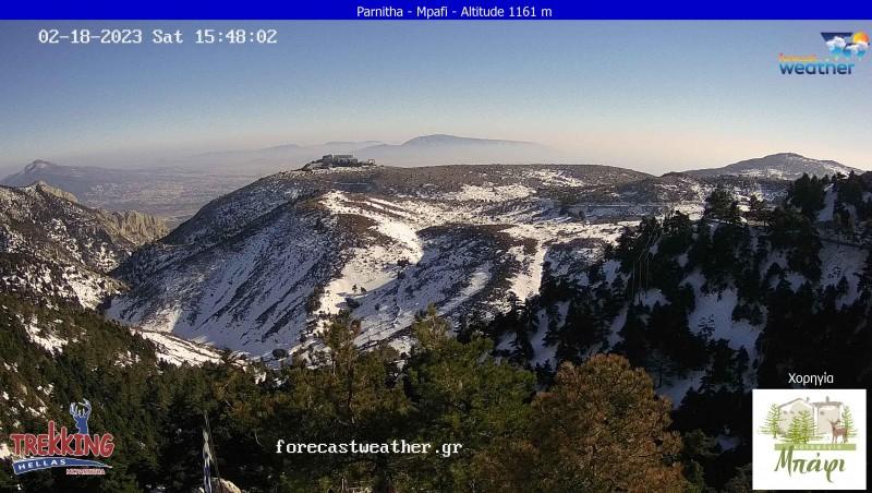 Τυχαία εικόνα από τις κάμερες Όρος Πάρνηθας Ανατολικά