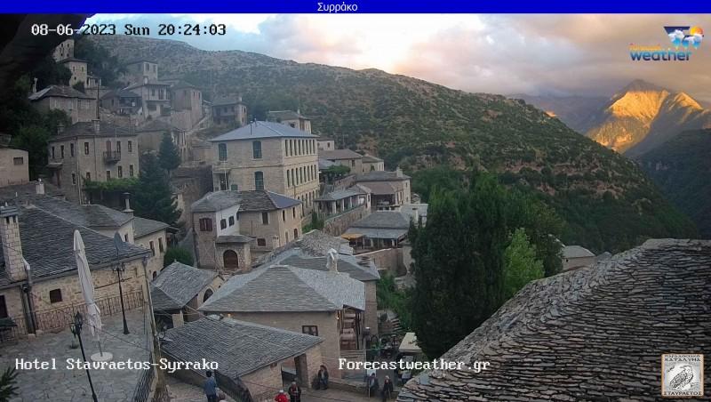 Τυχαία εικόνα από τις κάμερες Συρράκο Ιωαννίνων