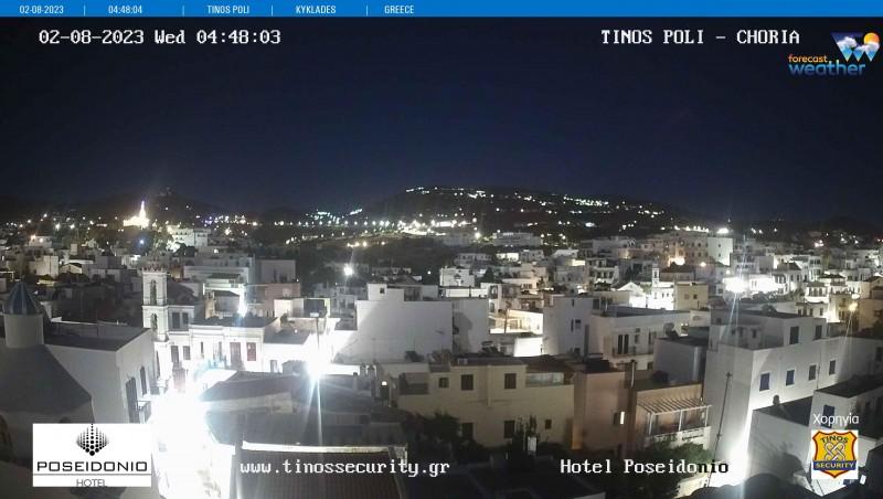 Τυχαία εικόνα από τις κάμερες Τήνος Λιμάνι