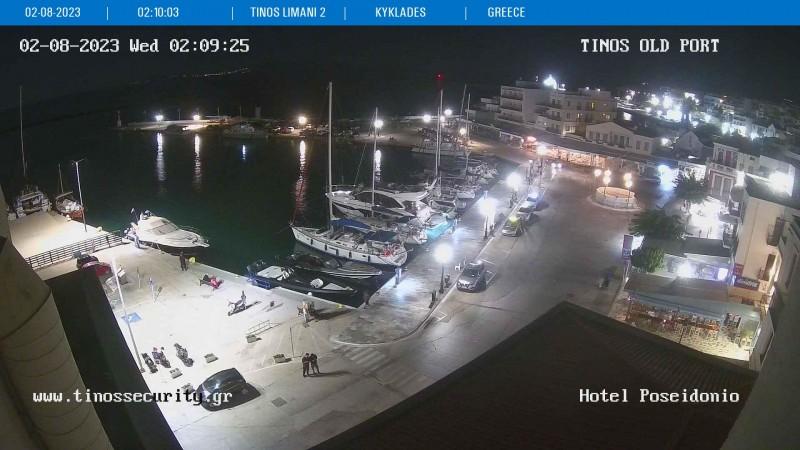 Τυχαία εικόνα από τις κάμερες Τήνος Λιμάνι 2-Μαρίνα