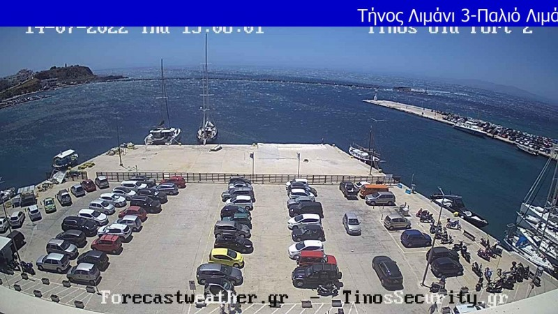 Τυχαία εικόνα από τις κάμερες Τήνος Παλιό Λιμάνι